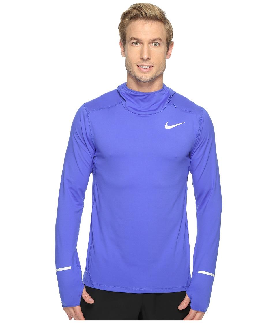 Nike - Dry Element Running Hoodie (Paramount Blue/Reflective Silver) Men's Sweatshirt