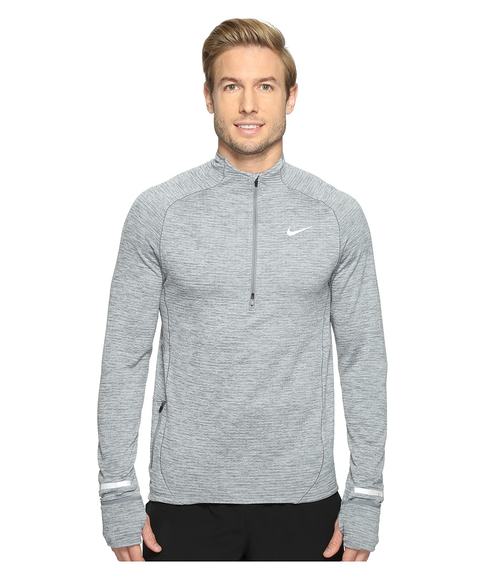 Nike - Element Sphere Half-Zip (Cool Grey/Heather/Wolf Grey) Men's Long Sleeve Pullover