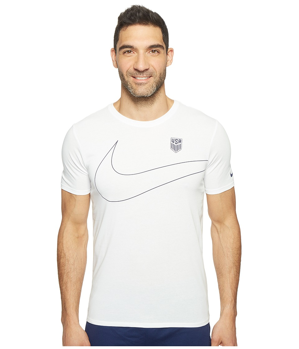 Nike - U.S. Preseason T-Shirt (White) Men's T Shirt