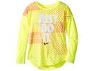 Nike Kids - Just Do It Geo Mashup Modern Tee (Little Kids)