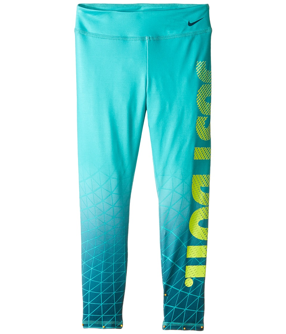 Nike Kids - Dri-FIT Sport Essential Legging (Little Kids) (Hyper Jade) Girl's Casual Pants