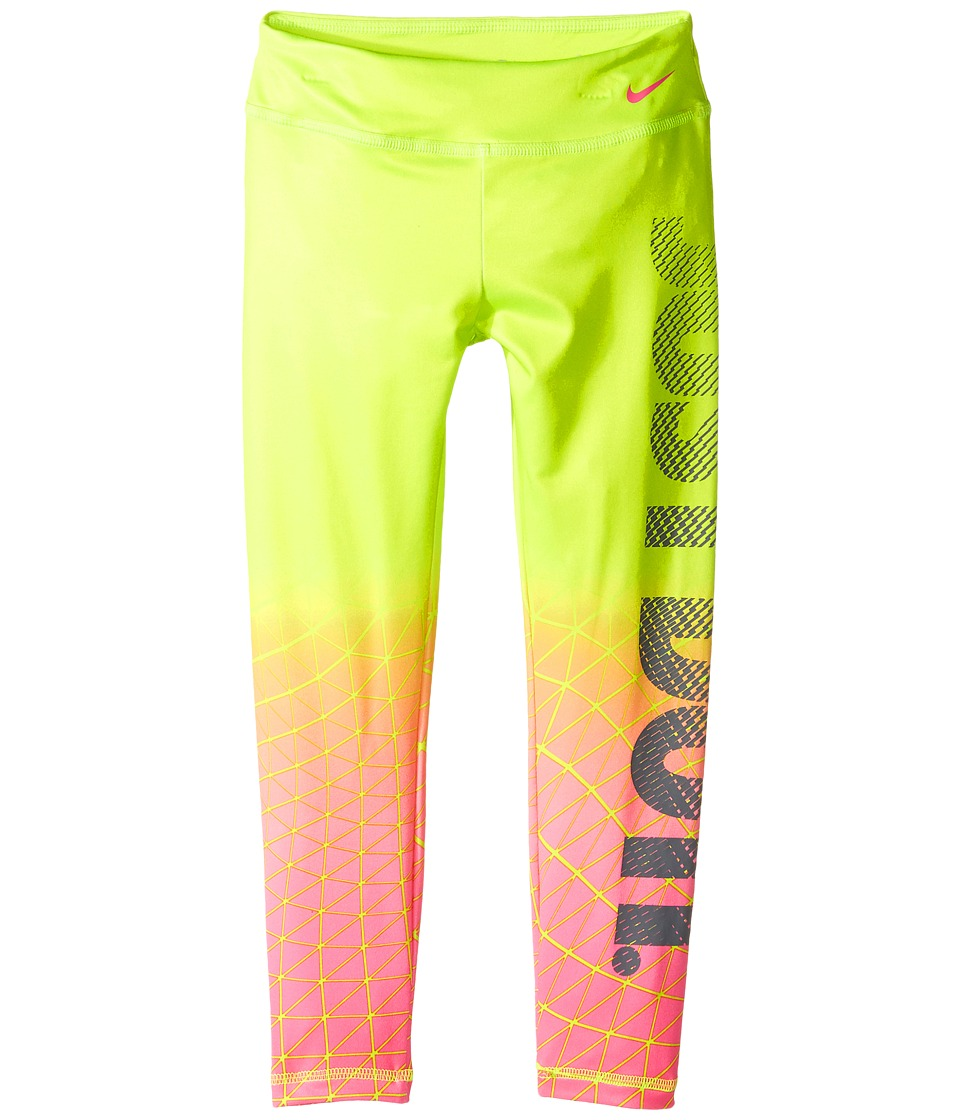 Nike Kids - Dri-FIT Sport Essential Legging (Little Kids) (Volt) Girl's Casual Pants