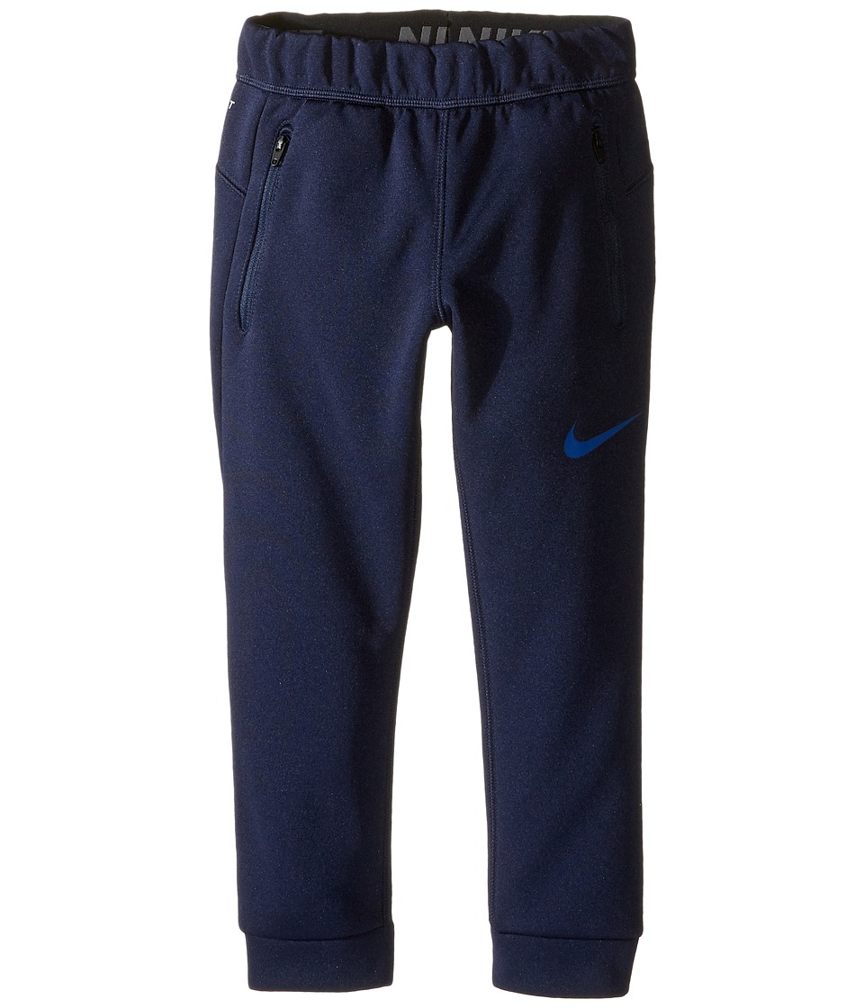 Nike Kids - Thermal Sphere Tapered Pants (Toddler) (Obsidian) Boy's Casual Pants