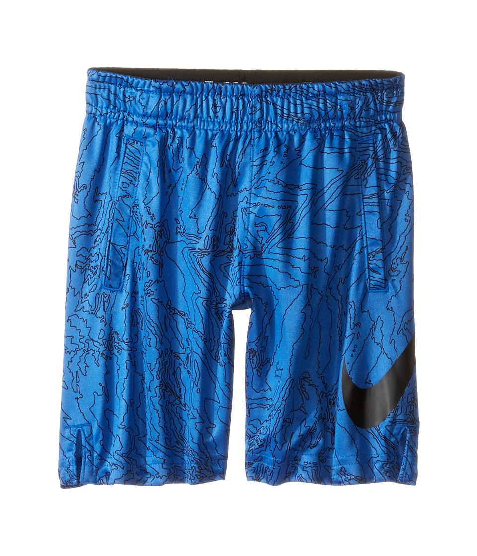 Nike Kids - Dry Aop Fly Shorts (Toddler) (Game Royal) Boy's Shorts