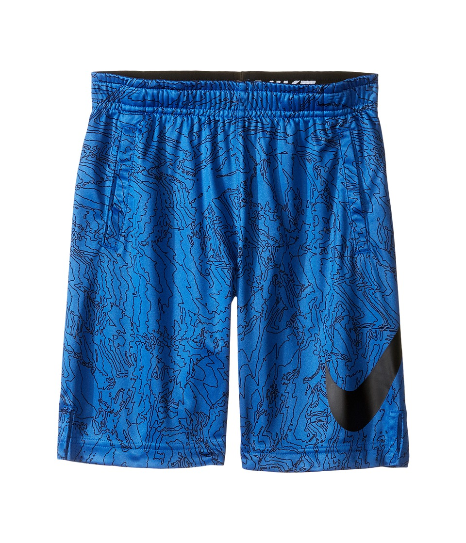 Nike Kids - Dry Aop Fly Shorts (Little Kids) (Game Royal) Boy's Shorts