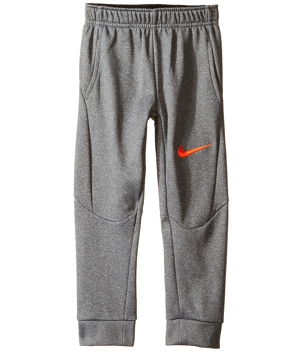 Nike Kids - Therma Tapered Pants (Toddler) (Dark Grey Heather) Boy's Casual Pants