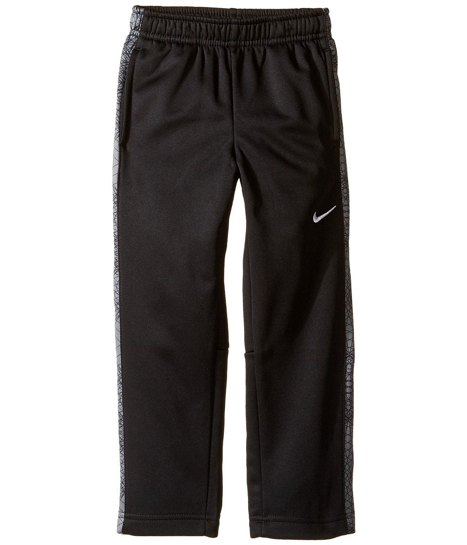 Nike Kids - Therma KO Print Fleece Pant (Toddler) (Black/Cool Grey) Boy's Casual Pants