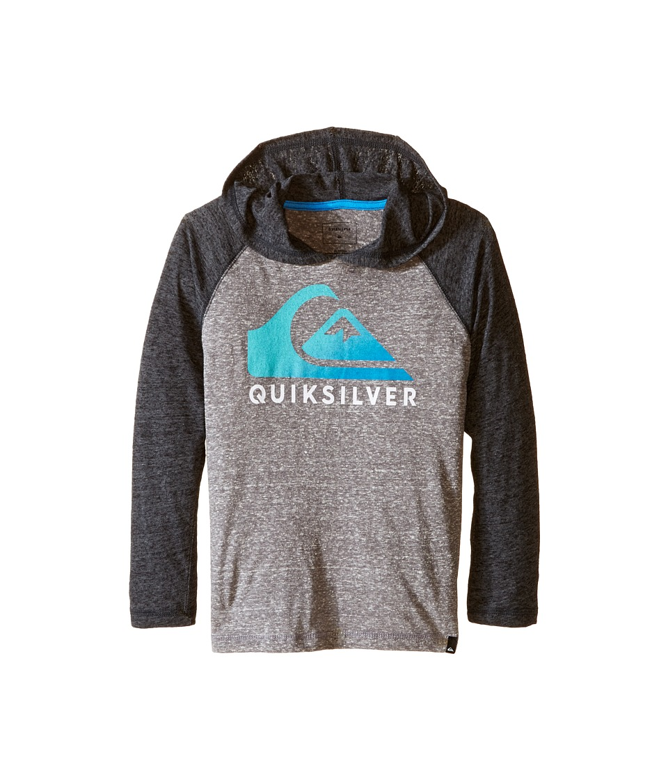 Quiksilver Kids - Heat Wave Jacket (Toddler/Little Kids) (Medium Grey Heather) Boy's Coat