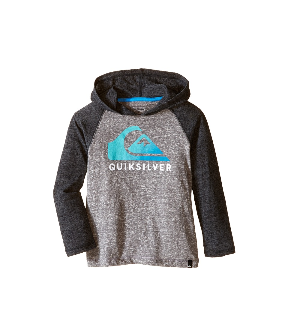 Quiksilver Kids - Heat Wave Jacket (Toddler) (Medium Grey Heather) Boy's Coat