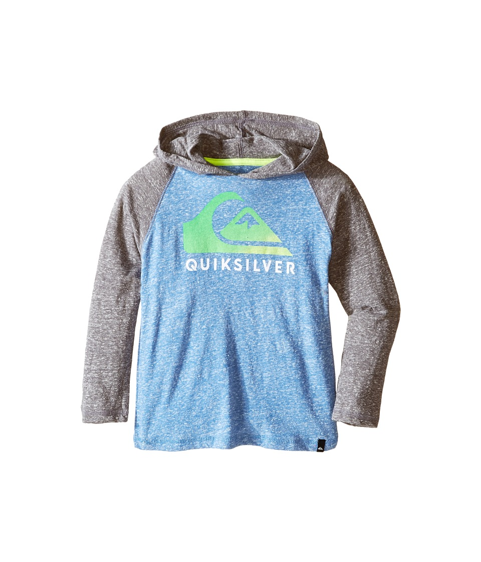 Quiksilver Kids - Heat Wave Jacket (Toddler) (Star Sapphire Heather) Boy's Coat