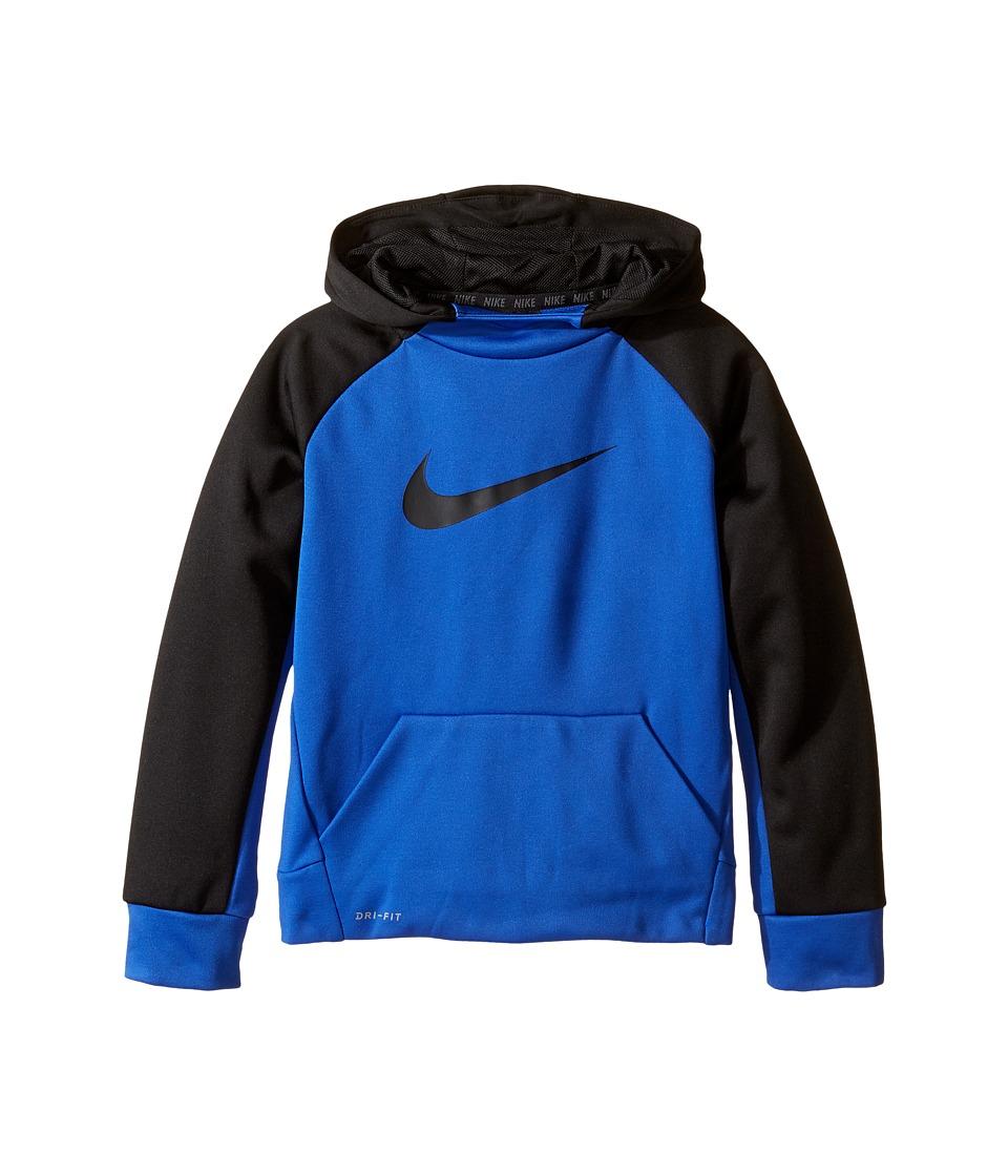 Nike Kids - Therma Pullover Hoodie (Little Kids) (Game Royal) Boy's Sweatshirt