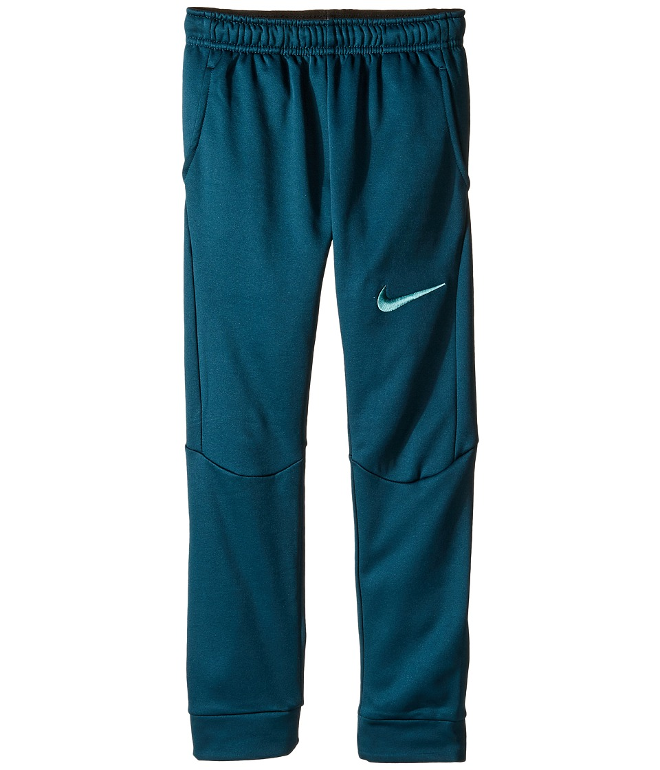 Nike Kids - Therma Tapered Pants (Little Kids) (Midnight Turquoise) Boy's Casual Pants