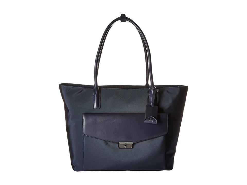 Tumi - Larkin Tanya Tote (Indigo) Tote Handbags