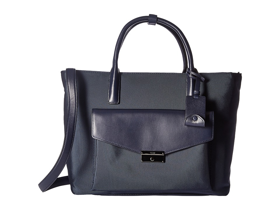 Tumi - Larkin Small Tanya Tote (Indigo) Tote Handbags