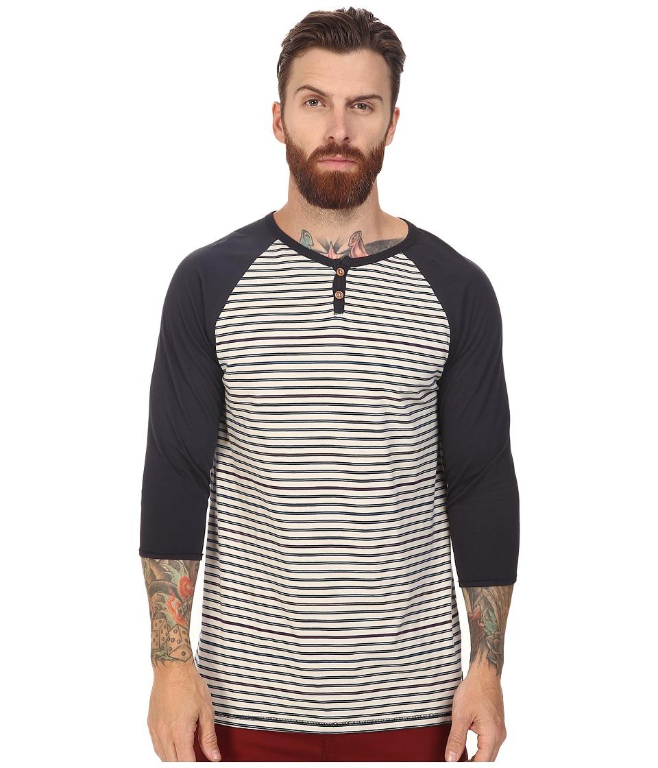 Roark - Ucluelet Raglan Knit (Natural) Men's Clothing
