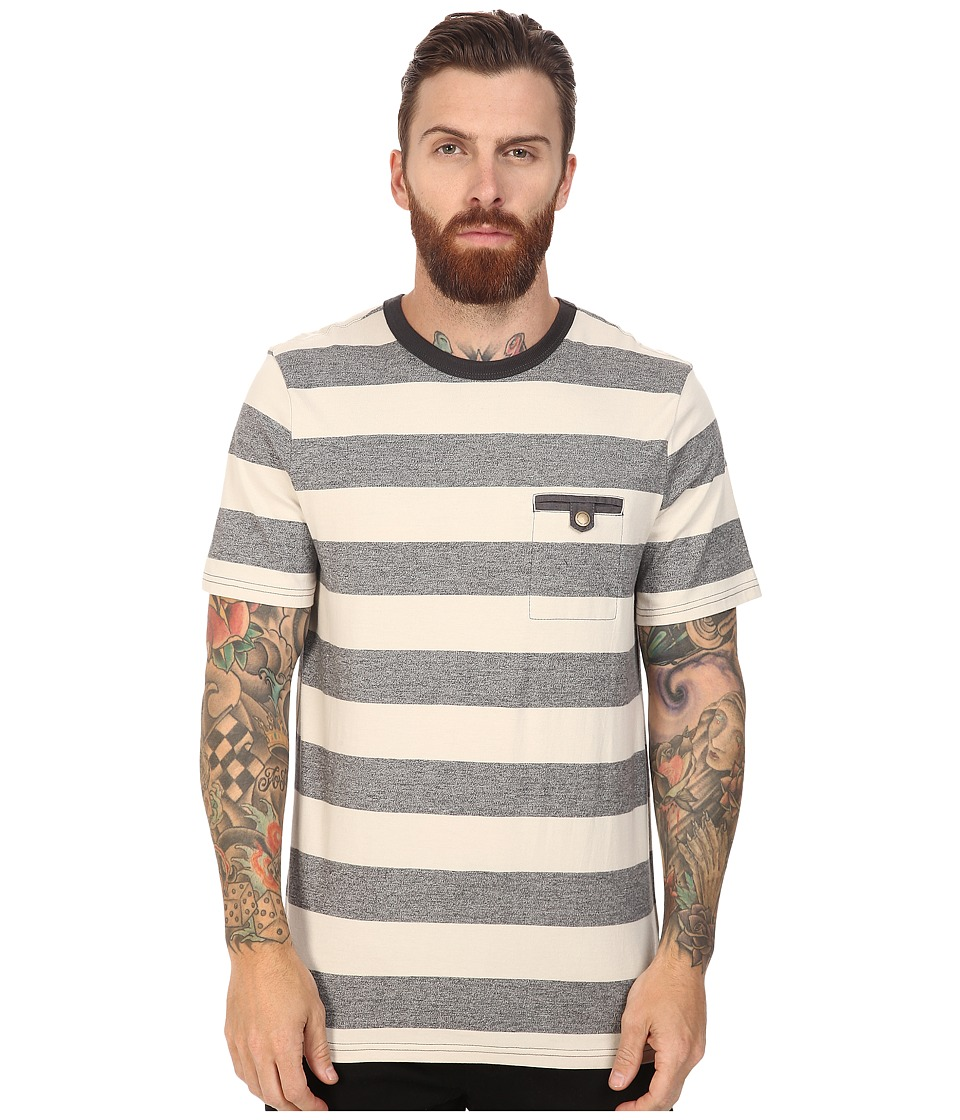 Roark - Shelter Short Sleeve Knit (Natural) Men's Short Sleeve Knit