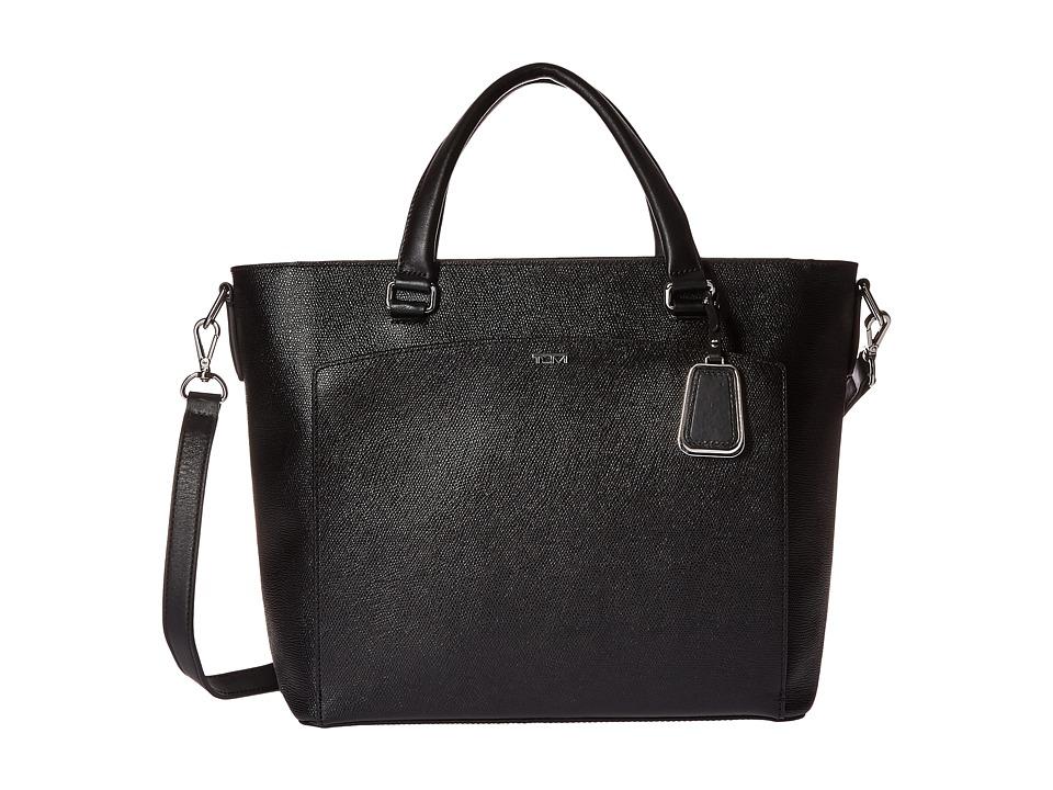 Tumi - Sinclair Small Camila Tote (Black) Tote Handbags