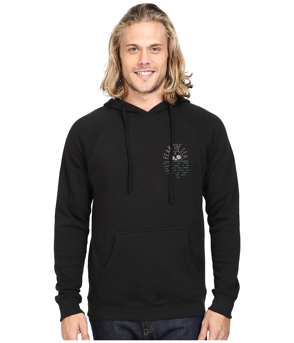 Roark - Fear The Sea Hooded Fleece (Black) Men's Sweatshirt
