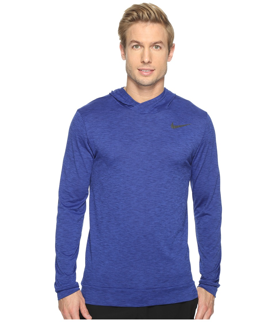 Nike - Breathe Training Hoodie (Deep Night/Binary Blue/Black) Men's Sweatshirt