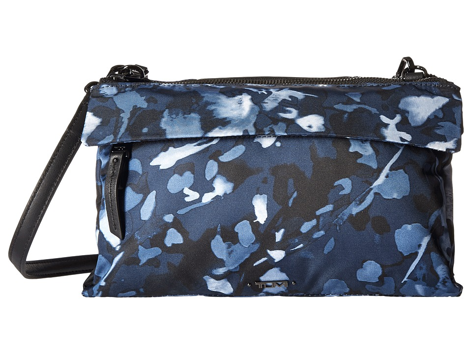 Tumi - Voyageur Tristen Crossbody (Indigo Floral) Cross Body Handbags