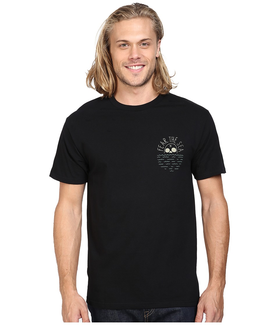 Roark - Fear the Sea Tee (Black) Men's T Shirt