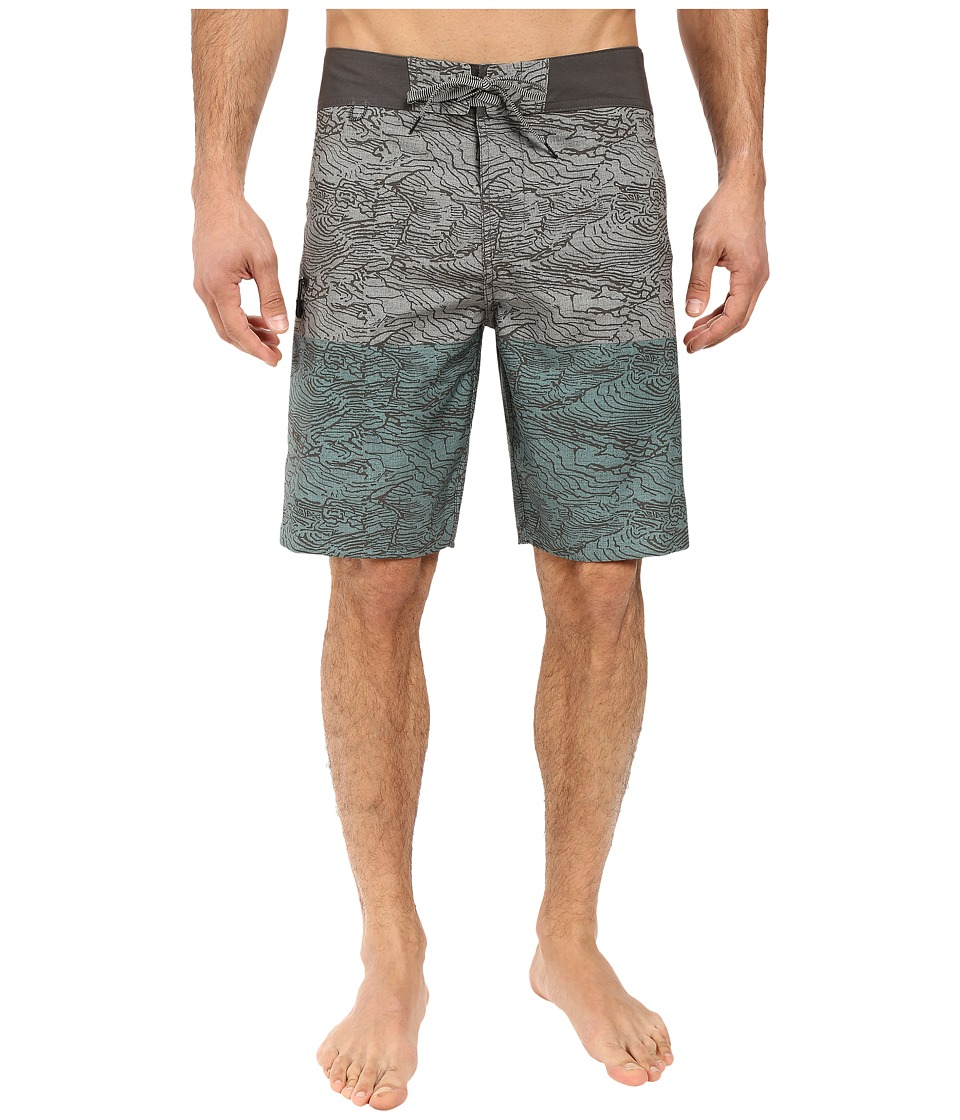 Roark - Savage Boardshorts (Seafoam Green) Men's Swimwear