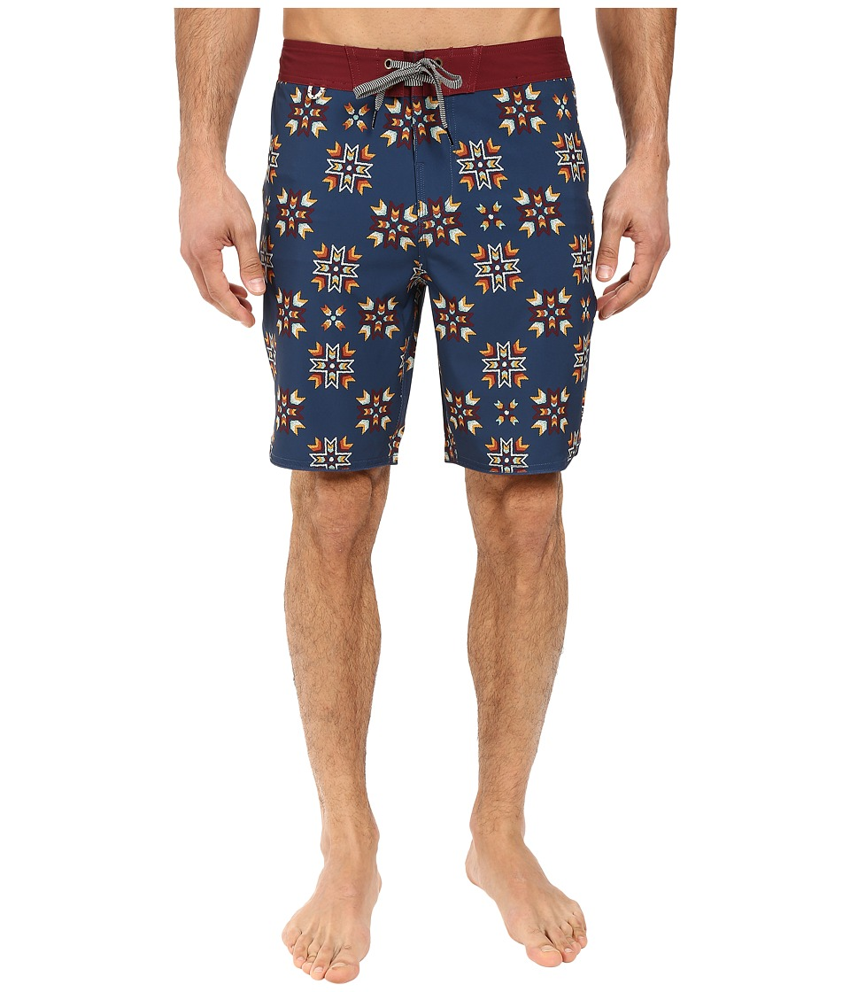Roark - First Nation Boardshorts (Blue) Men's Swimwear