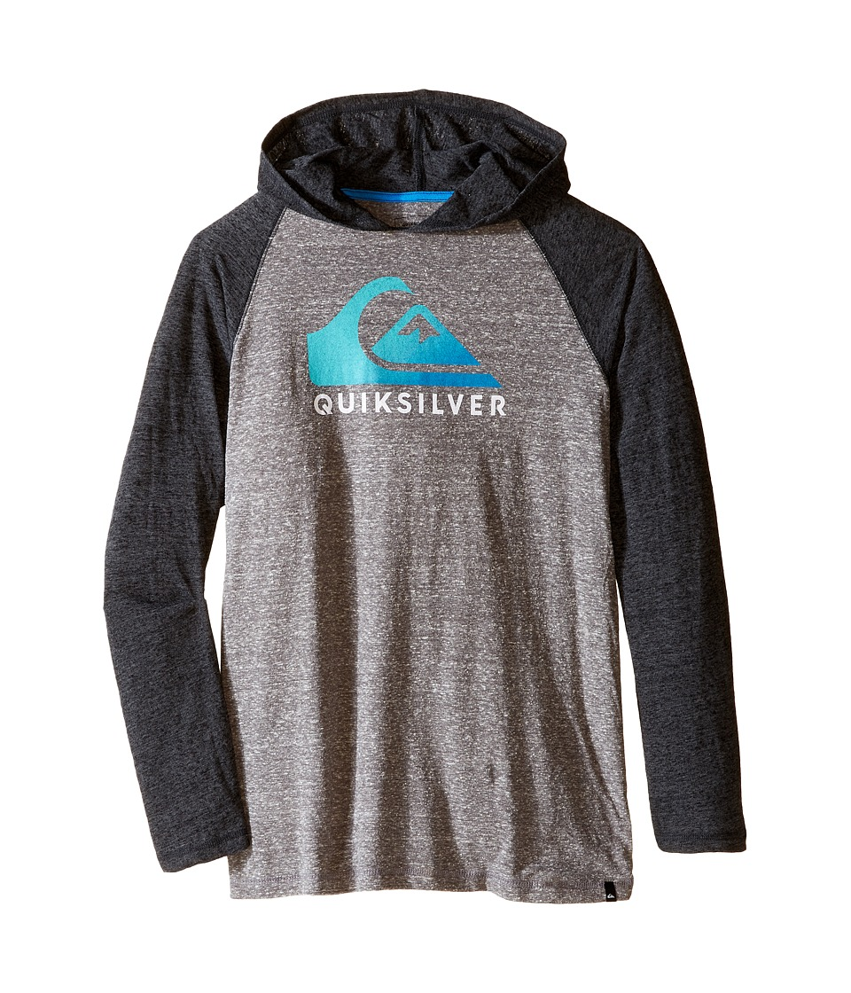 Quiksilver Kids - Heat Wave Jacket (Big Kids) (Medium Grey Heather) Boy's Coat