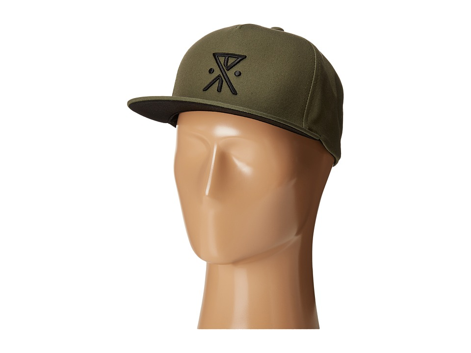 Roark - Safe Camp Snapback (Army) Caps