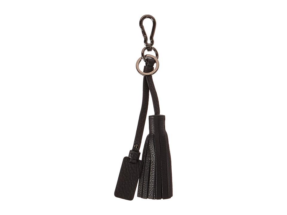 Tumi - Noho Tassel Key Fob (Black) Wallet