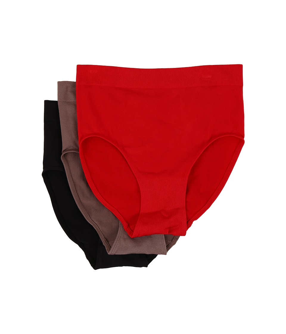 Wacoal - B-Smooth Brief (Tango Red/Cappuccino/Black) Women's Underwear