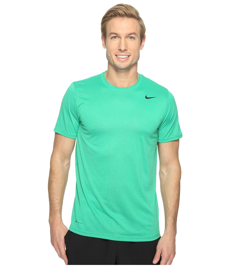 Nike - Legend 2.0 Short Sleeve Tee (Stadium Green/Black) Men's T Shirt