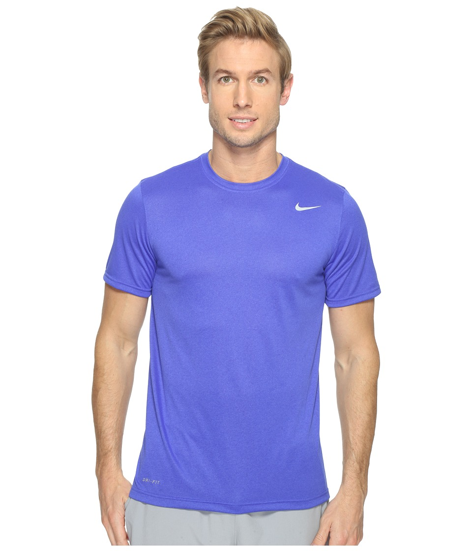 Nike Legend 2.0 Short Sleeve Tee (Paramount Blue/Matte Silver) Men