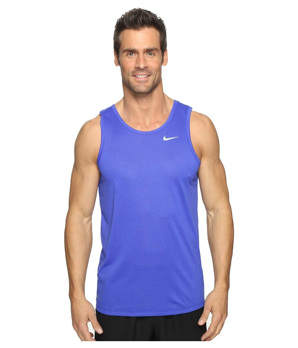 Nike - Legend Tank Top (Paramount Blue/Matte Silver) Men's Sleeveless