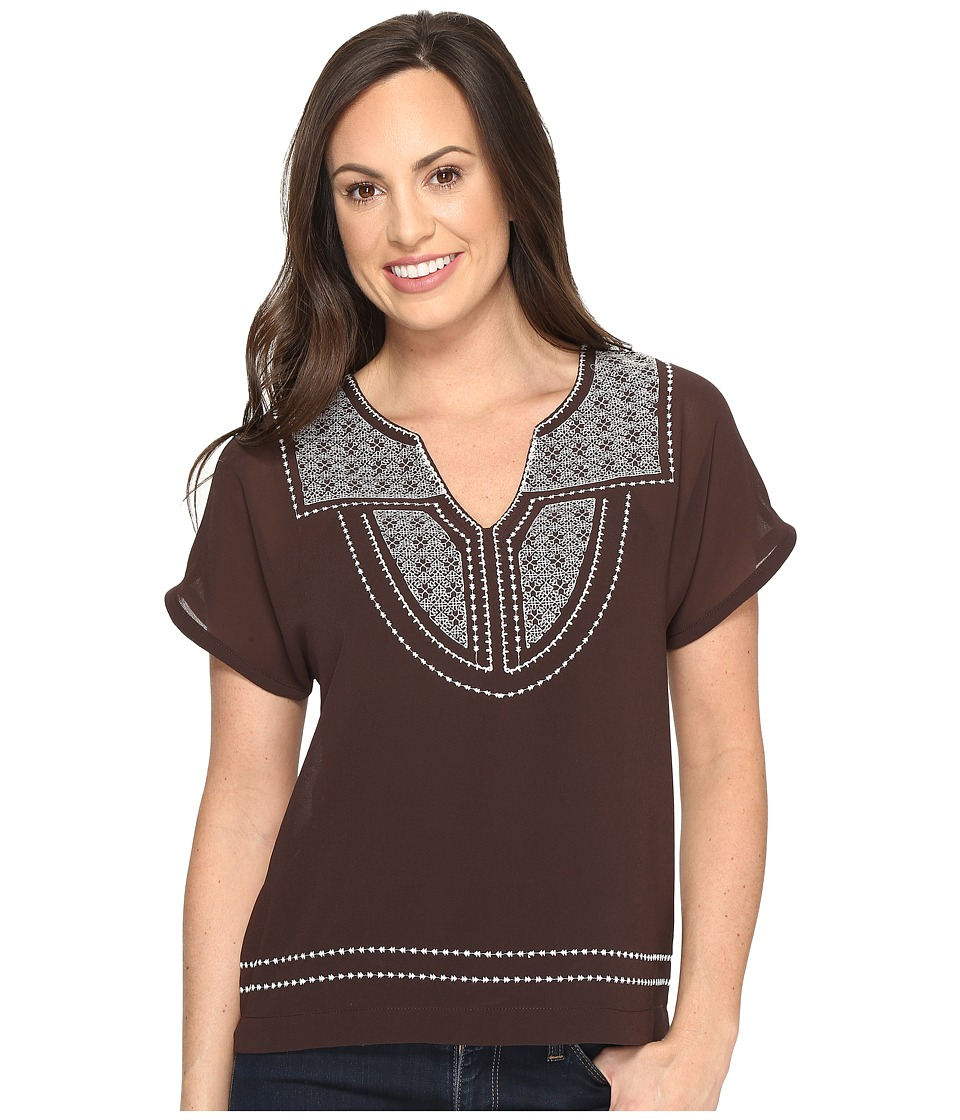 Ariat - Rio Top (Coffee Bean) Women's Blouse