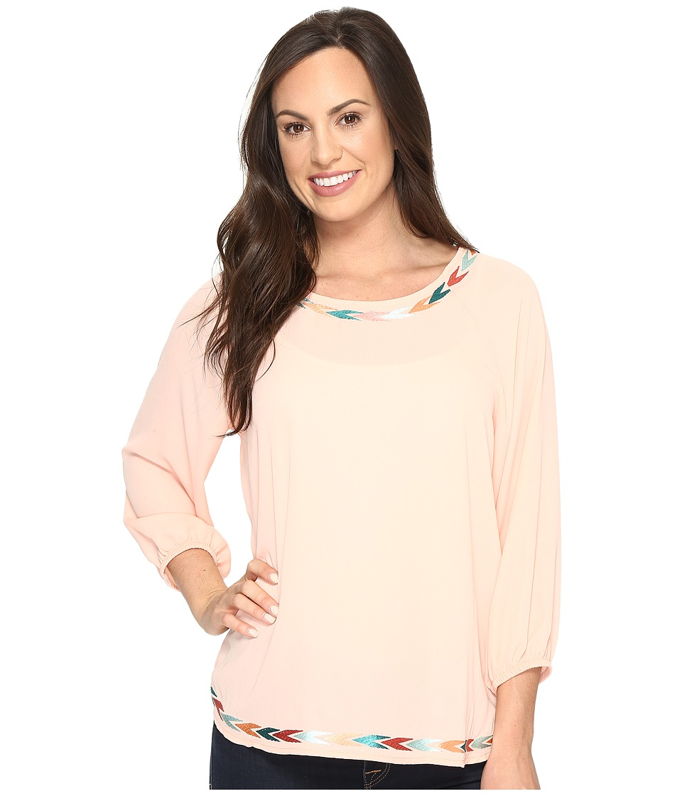 Ariat - Gia Tunic (Sugar Peach) Women's Blouse