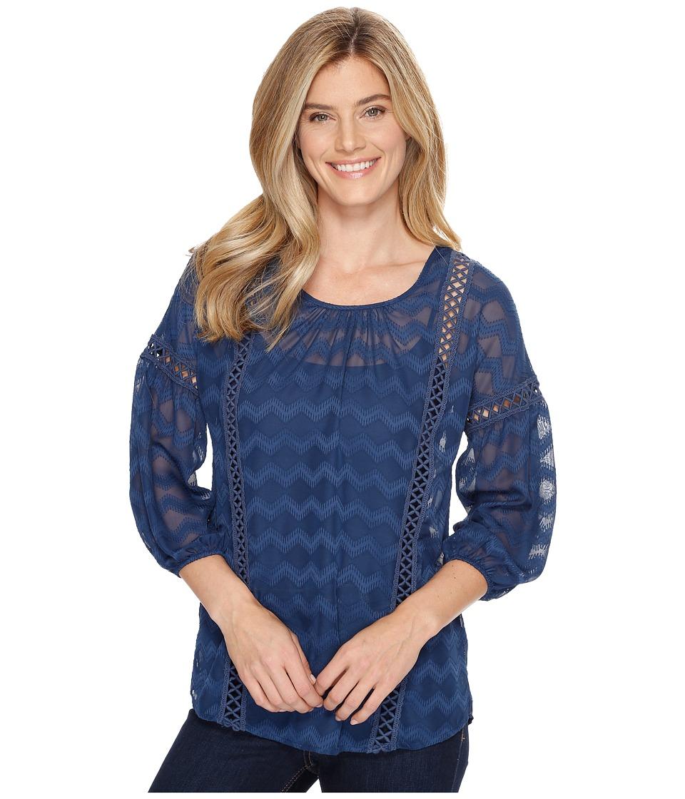 Ariat - Ellie Top (Navy) Women's Clothing