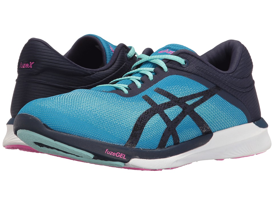 ASICS - FuzeX Rush (Diva Blue/Indigo Blue/White) Women's Running Shoes