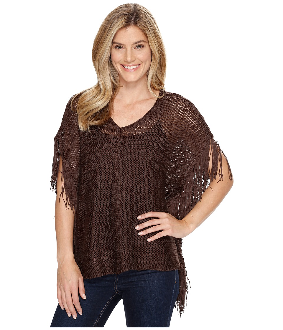 Ariat - Calypso Poncho (Caponata) Women's Sweater