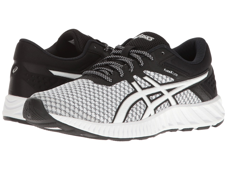 ASICS - FuzeX Lyte 2 (White/Black/Silver) Women's Running Shoes