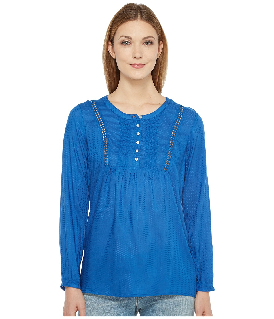 Ariat - Ardee Top (True Blue) Women's Clothing