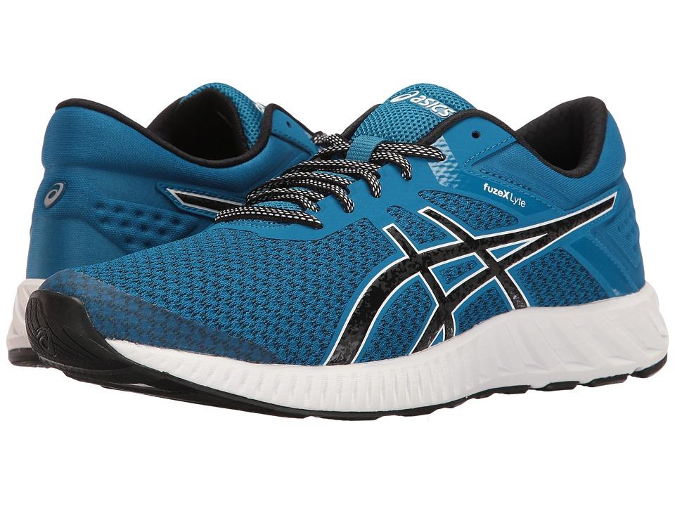 ASICS - FuzeX Lyte 2 (Thunder Blue/Black/White) Men's Running Shoes