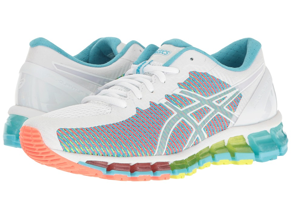 ASICS - Gel-Quantum 360 CM (White/Snow/Flash Coral) Women's Running Shoes