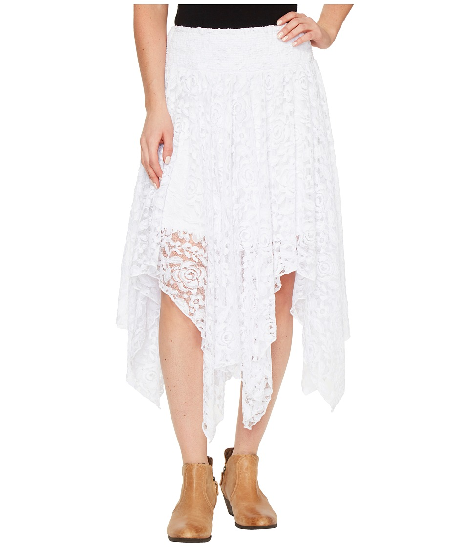 Ariat - Hankie Skirt (White Lace) Women's Skirt