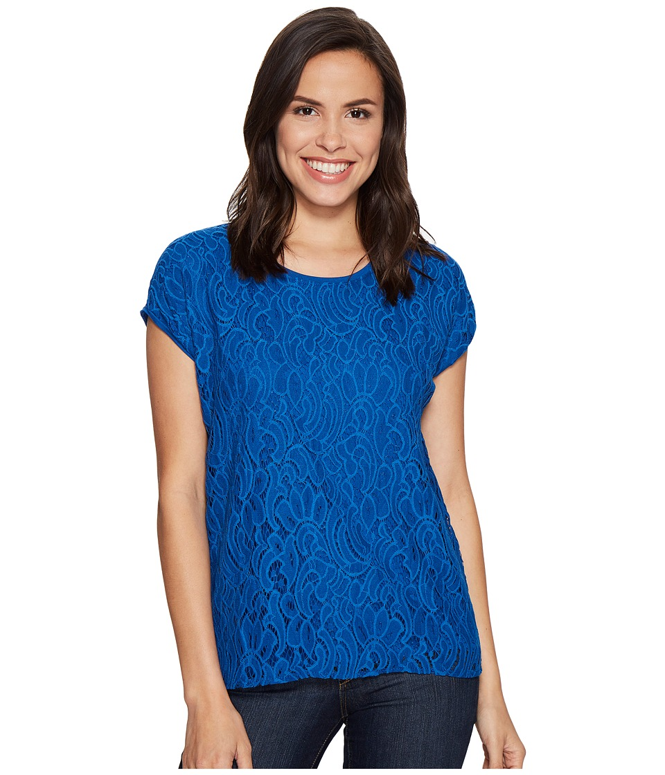 Ariat - Athy Top (True Blue) Women's Clothing