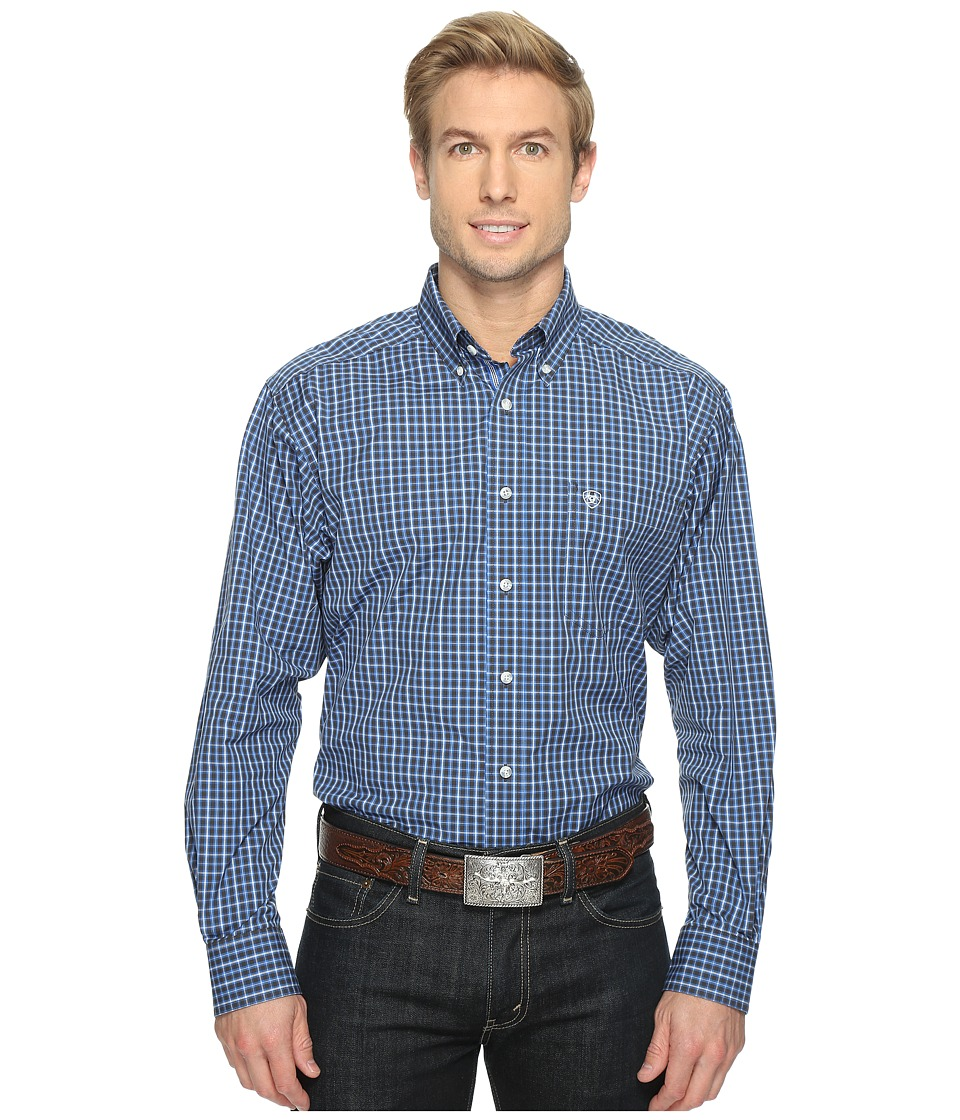 Ariat - Alfred Shirt (Neoprene Blue) Men's Long Sleeve Button Up