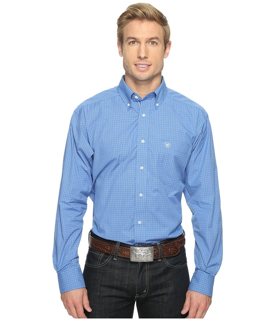 Ariat - Andy Shirt (Neoprene Blue) Men's Long Sleeve Button Up
