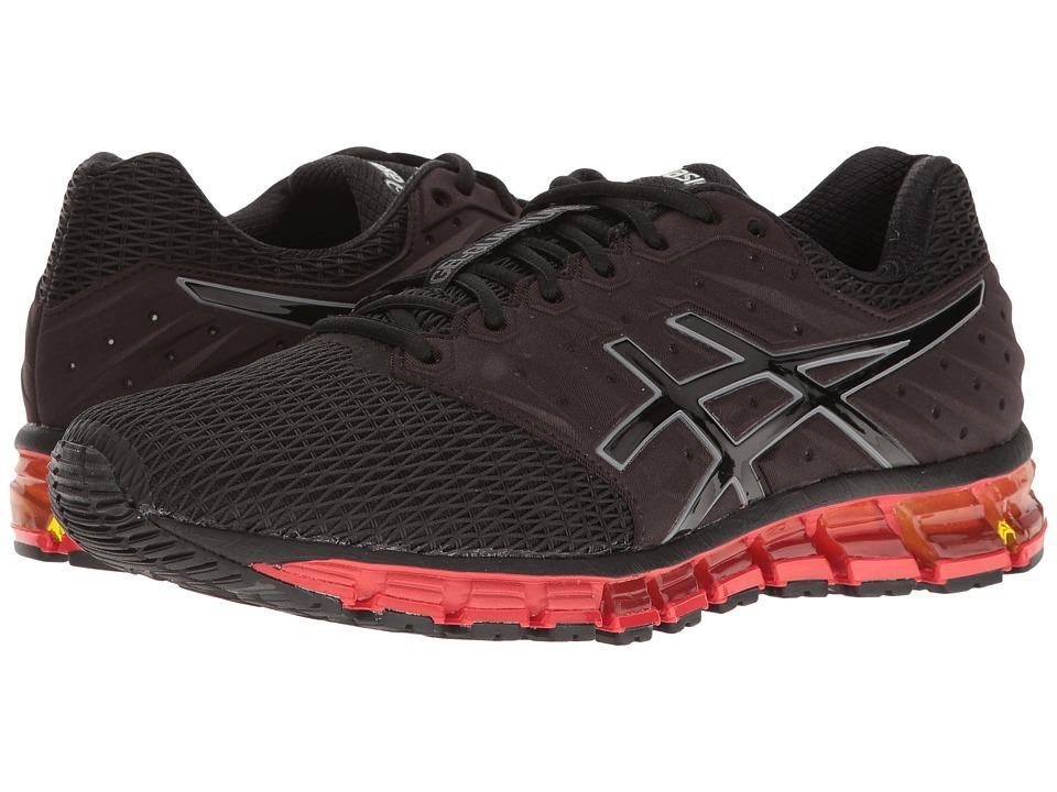 ASICS - Gel-Quantum(r) 180 2 (Dark Navy/Silver/Flash Coral) Men's Running Shoes