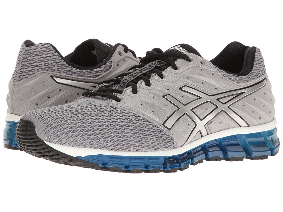 ASICS - Gel-Quantum(r) 180 2 (Aluminum/Silver/Black) Men's Running Shoes