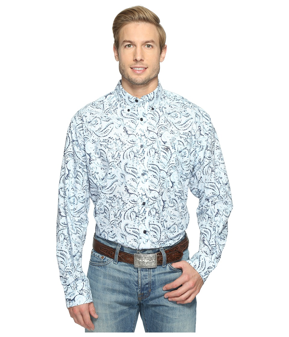 Ariat - Bronson Print Shirt (Sheltering Sky) Men's Long Sleeve Button Up